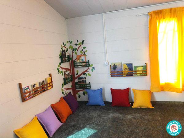 Read with Me cabin-Library in Javanroud