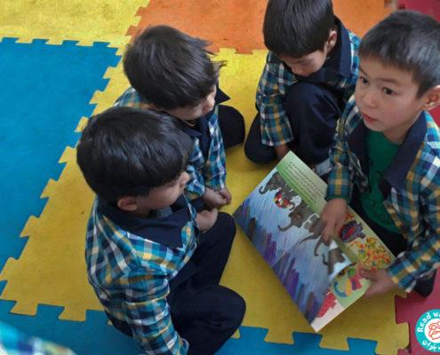 بلندخوانی کتاب «المر»، محمودآباد، آذر 96