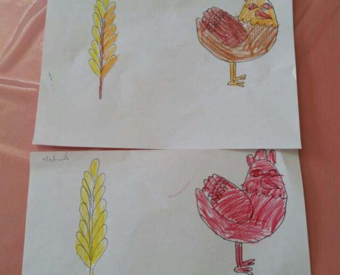 بلندخوانی کتاب مرغ سرخ پاکوتاه، اوز، آبان 96