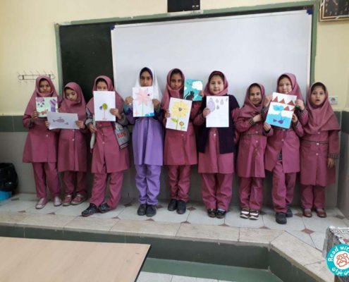 بلندخوانی کتاب سفر به خیر قطره کوچولو، محمودآباد، آذر 96