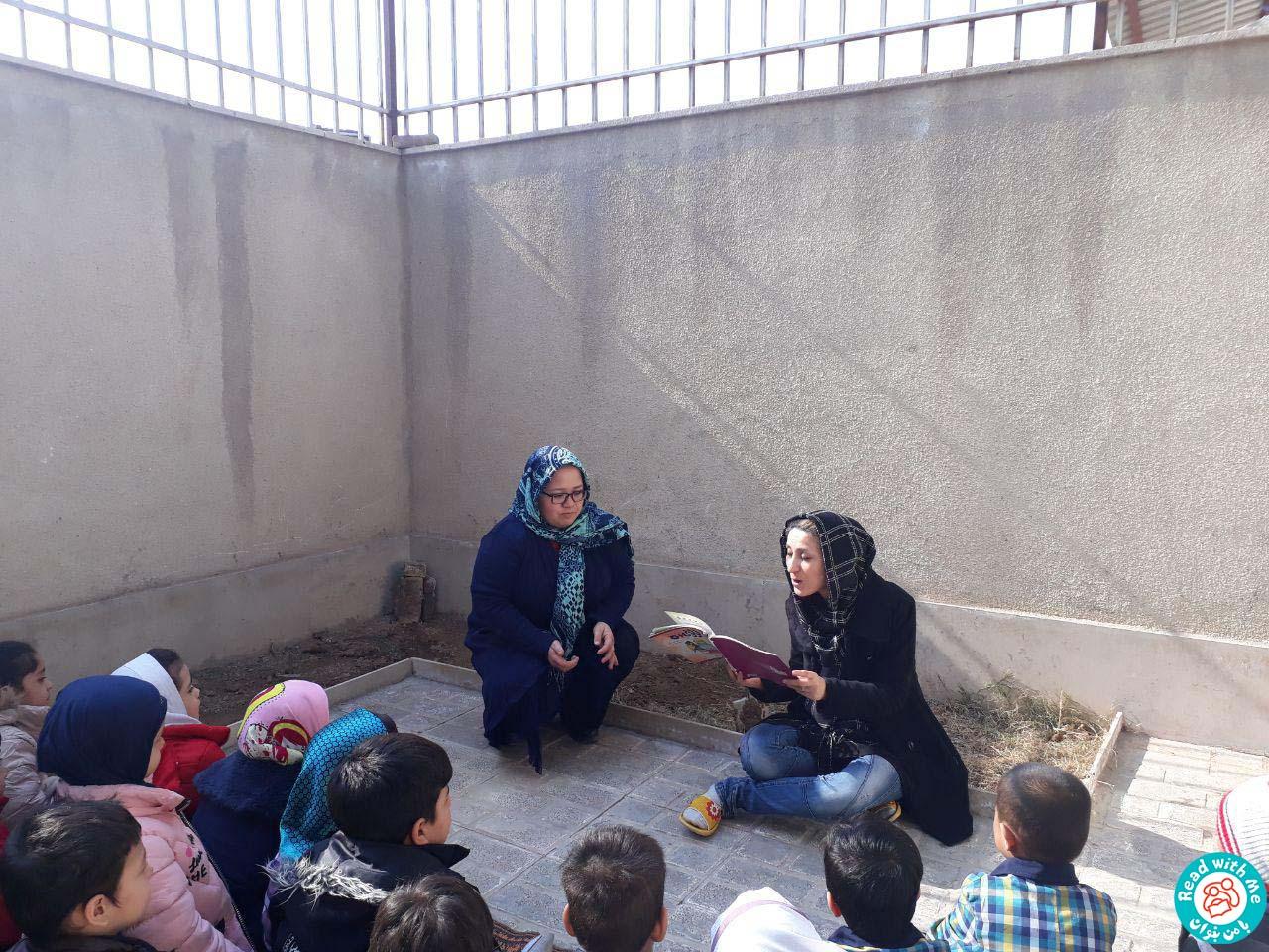 بلندخوانی داستانک دهم شمارورزی لولوپی ۰، محمودآباد، بهمن 96