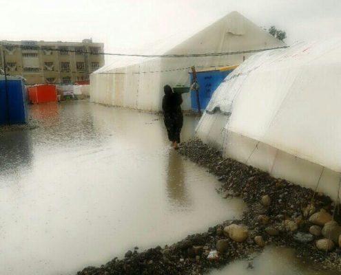بارش شدید باران، سرپل ذهاب، بهمن 96