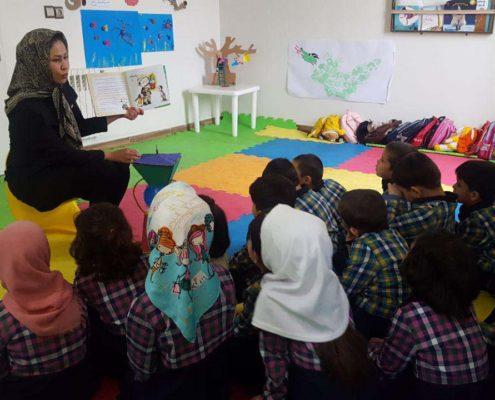 بلندخوانی داستانک اول شمار ورزی لولوپی +1، محمودآباد، بهمن 96