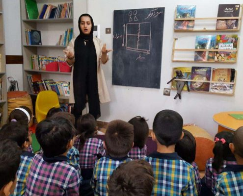آموزش رسم چوب خط و سودوکو شمارورزی لولوپی+1، محمودآباد، اردیبهشت 97