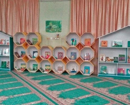 افتتاح کتابخانه دبستان انصاریان، لار، آذر 96