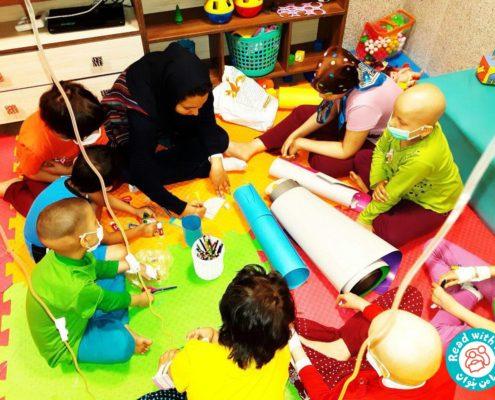 بلندخوانی کتاب، انجمن حمایت از کودکان مبتلا به سرطان تبریز (تسکین)، بهمن 95