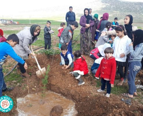 Tree Planting Day in Iran