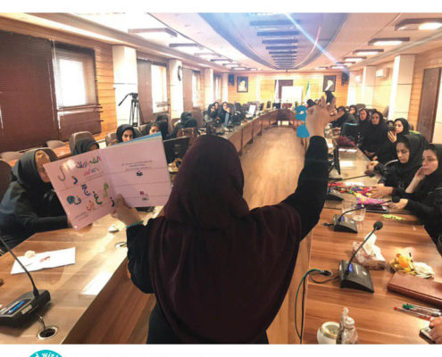 فاز نخست برنامهی «با من بخوان» در مهدکودکهای مناطق حاشیهای استان مازندران