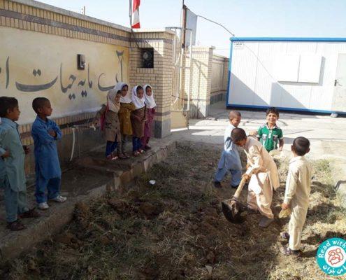 بلندخوانی کتاب مرغ سرخ پاکوتاه، زابل، مهر96