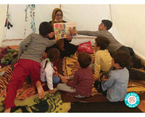 با من بخوان در کنار کودکان پلدختر