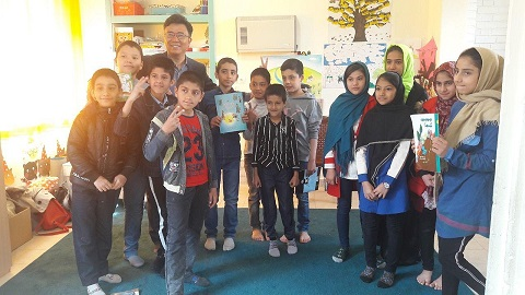 IBBY president visits a read with me center