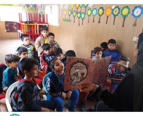 بلندخوانی کتاب «بنفشههای عمو نوروز» برای کودکان در عید نوروز