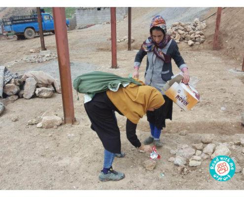 ترویجگران کرمانشاهی با من بخوان به یاری روستاهای سیلزده لرستان شتافتند
