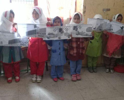 توالی رخدادهای کتاب خانم حنا به گردش میرود، سراوان، بهمن 96
