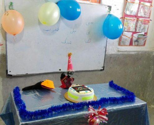آموزش واک ل و جشن سیبیلک، سراوان، بهمن 96