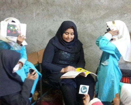 بلندخوانی آواورزی با سیبیلک، زاهدان، خرداد97