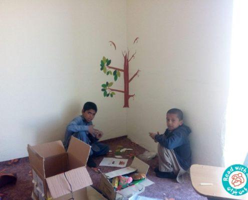 کتابخانه دبستان شهیدان دولتی
