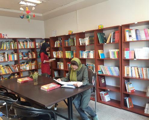 کتابخانه سازور سازه آذرستان