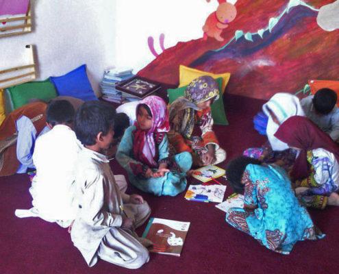 جشن المر در کتابخانه ، خرماگی، خرداد 97