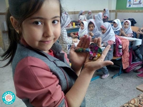 ساخت عروسک المر با سفال  پایه دوم، آموزگار خانم جعفریان