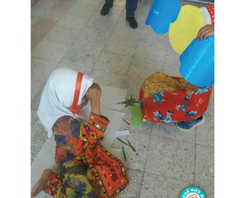 نخودی همراه تابستانی کودکان بازمانده از تحصیل مرکز کوشای زاهدان