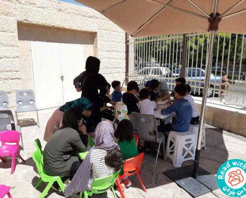 بازدید کودکان خانهی آوین از موزه کودکی ایرانک