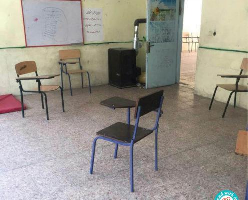 افتتاح کتابخانه کودکمحور با من بخوان در سپیددشت