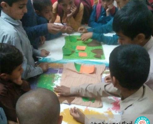 ساخت سرزمین بهار در آموزش خلاق سواد پایه