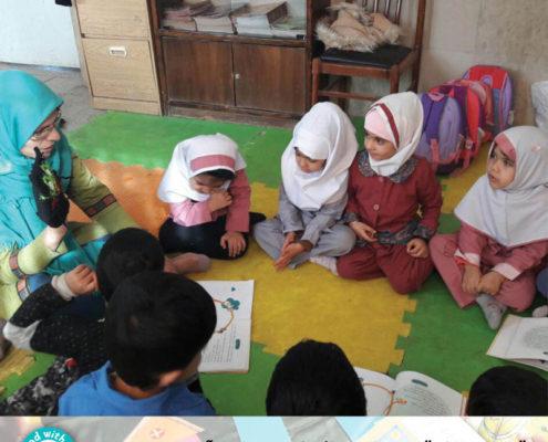 آموزش خلاق کودکمحور با لوازم و امکانات اندک