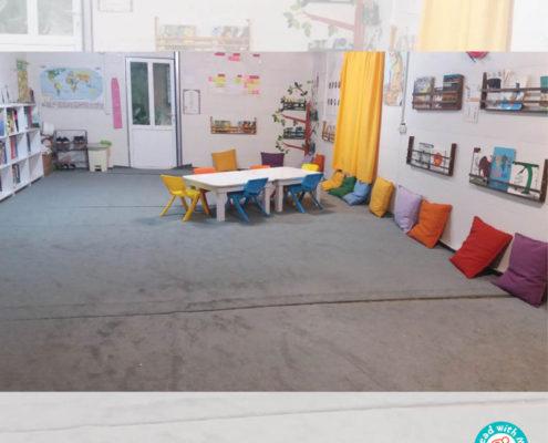 جشن یکسالگی کتابخانه کودکمحور جوانرود