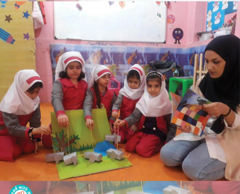 فعالیتهای در پیوند با بلندخوانی فرصتی برای آموزش غیرمستقیم حفظ محیط زیست