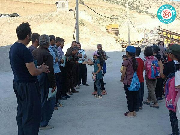 children met the miners