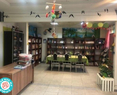 فعالیت های کتابخانه ی سازورسازه آذرستان