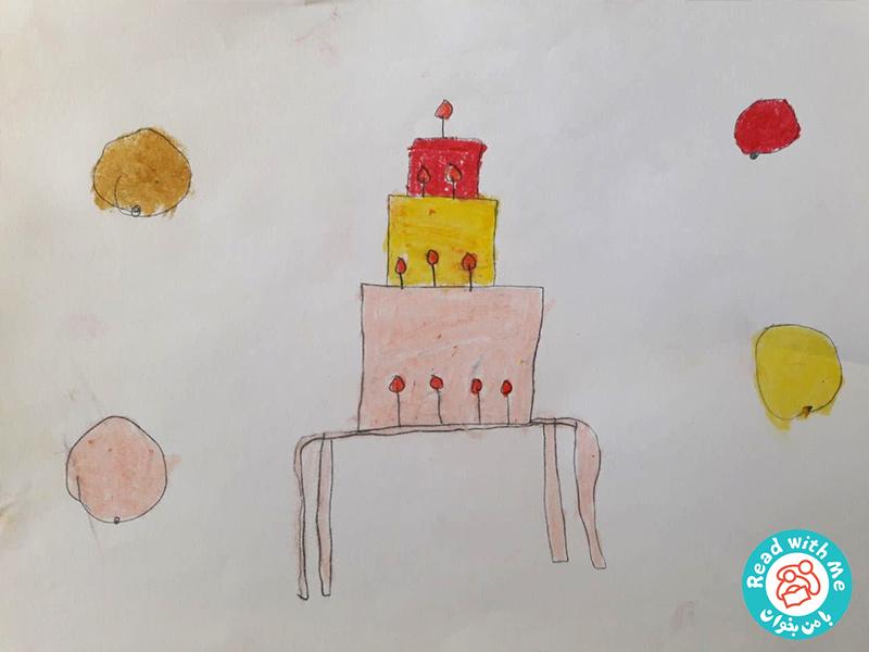 نقاشی بچه ها پس از بلندخوانی کتاب کازیمیر